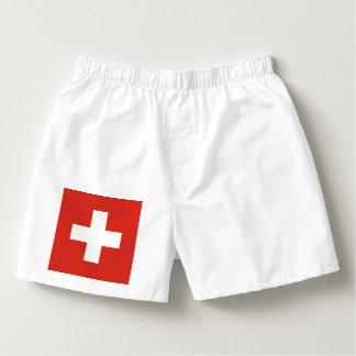 Flag of Switzerland Boxers