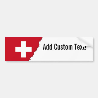 Flag of Switzerland Bumper Sticker