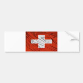 Flag of Switzerland Bumper Sticker