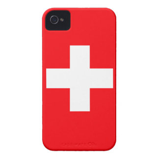 Flag of Switzerland iPhone 4 Cover