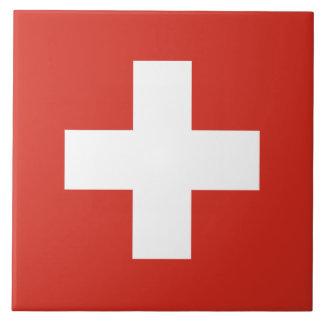 Flag of Switzerland Ceramic Tile