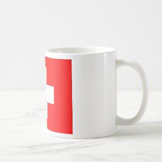 Flag of Switzerland Coffee Mugs