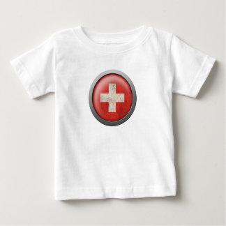 Flag of Switzerland Disc Shirt