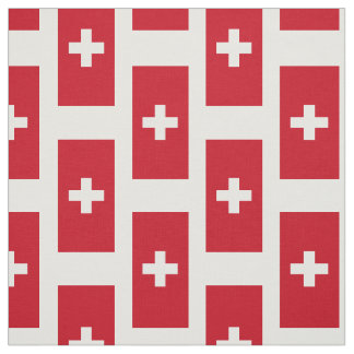 Flag of Switzerland Fabric