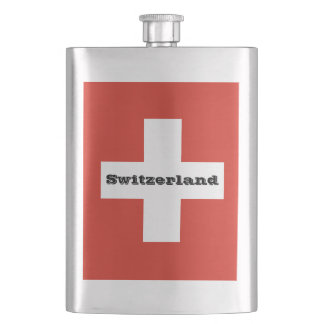 Flag of Switzerland Flask