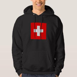 Flag of Switzerland Hoodies