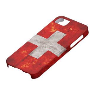 Flag of Switzerland iPhone SE/5/5s Case
