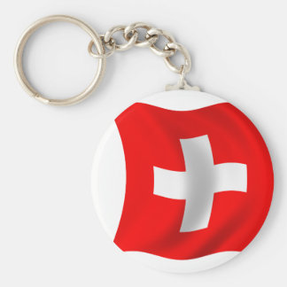 Flag of Switzerland Key Chains