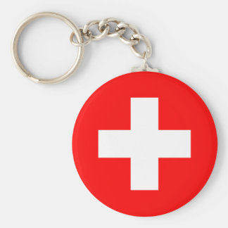 Flag of Switzerland Key Chains