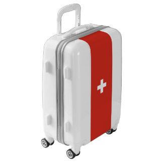 Flag of Switzerland Luggage (Carry-On)