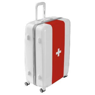 Flag of Switzerland Luggage (Large)