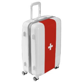Flag of Switzerland Luggage (Medium)