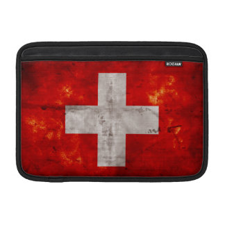 Flag of Switzerland MacBook Air Sleeve