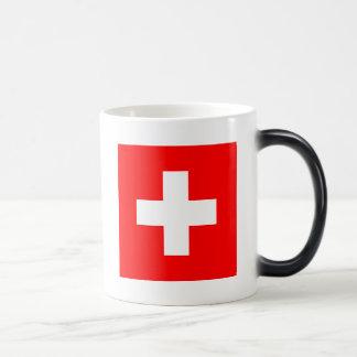Flag of Switzerland Magic Mug