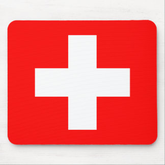 Flag of Switzerland Mouse Pad