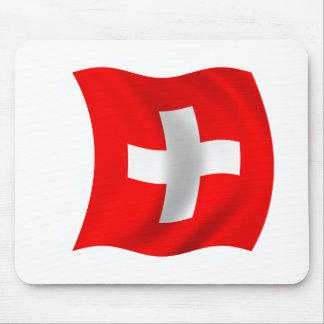 Flag of Switzerland Mouse Pad
