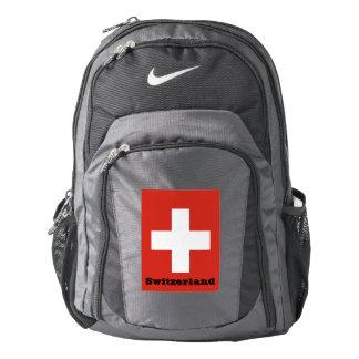 Flag of Switzerland Nike Backpack