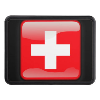 Flag of Switzerland Tow Hitch Cover