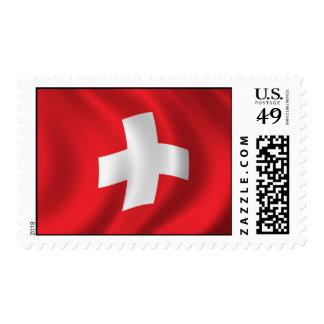 Flag of Switzerland Postage
