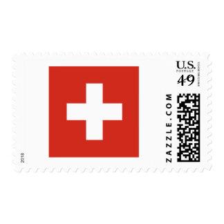 Flag of Switzerland Postage Stamps