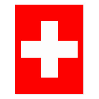 Flag of Switzerland Postcard