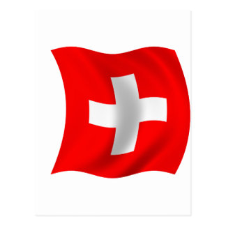 Flag of Switzerland Postcard