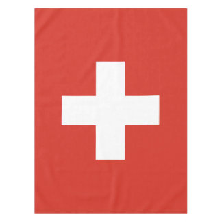 Flag of Switzerland Tablecloth