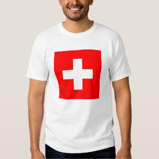 Flag of Switzerland Tee Shirt