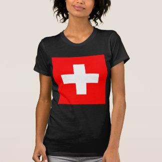 Flag of Switzerland T Shirts