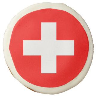 Flag of Switzerland Sugar Cookie