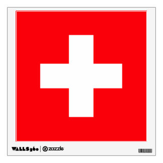 Flag of Switzerland Wall Sticker