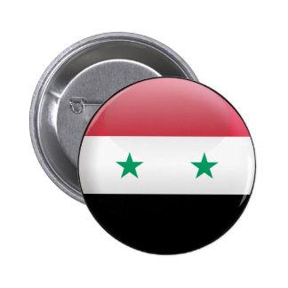 Flag of Syria Pinback Button