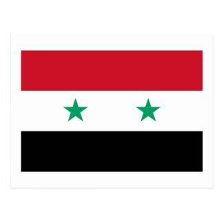 Flag of Syria Postcard