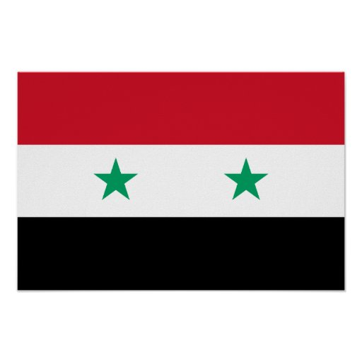 Flag of Syria Poster