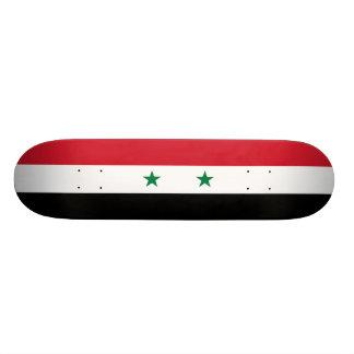 Flag of Syria Skateboard Deck