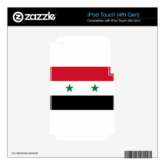 Flag_of_Syria. Skin For iPod Touch 4G