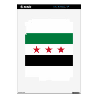 Flag of Syria - Syrian Independence flag Decal For iPad 2