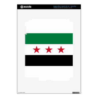 Flag of Syria - Syrian Independence flag Decal For iPad 3