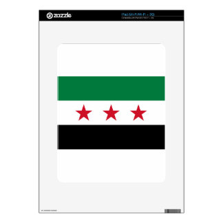 Flag of Syria - Syrian Independence flag iPad Decal