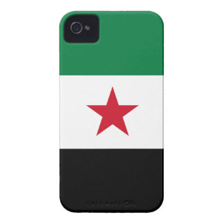 Flag of Syria - Syrian Independence flag iPhone 4 Case