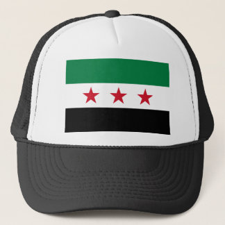 Flag of Syria - Syrian Independence flag Trucker Hat