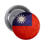Flag of Taiwan Buttons