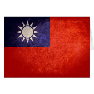 Flag of Taiwan Greeting Cards