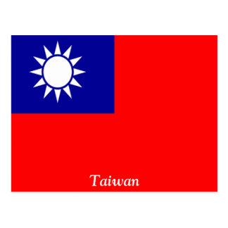 Flag of Taiwan Postcard