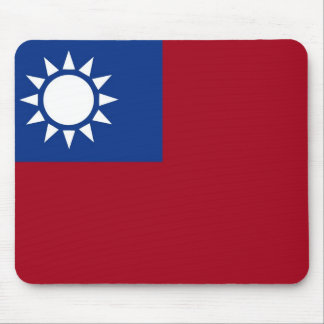 Flag of Taiwan Republic of China Mouse Pad