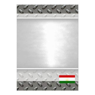 """Flag of Tajikistan 5"""" X 7"""" Invitation Card"""