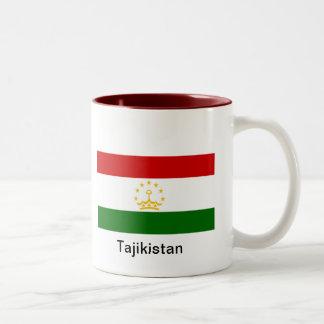 Flag of Tajikistan Two-Tone Coffee Mug
