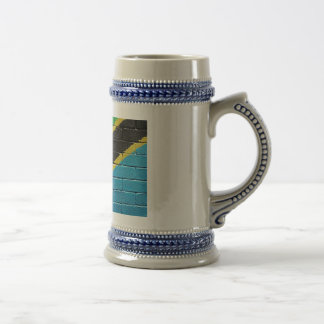 Flag of Tanzania Beer Stein