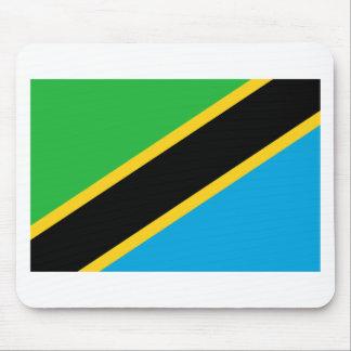 Flag of Tanzania Mouse Pad