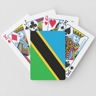 Flag of Tanzania Playing Cards